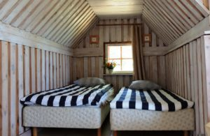 Room for couples Ruhnu accommodation