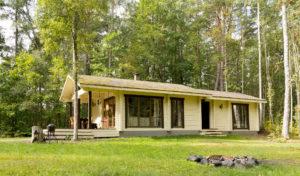 Ruhnu guesthouse accommodation