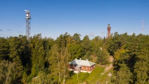 Kordon Ruhnu lighthouse