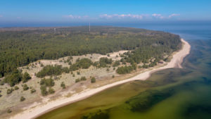 Limo sand dunes and beach