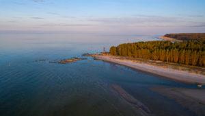 Kuunsi beach Ruhnu