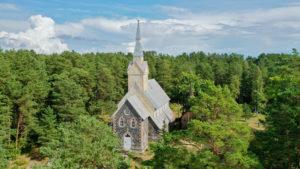 Ruhnu churches