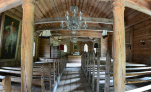Ruhnu old church